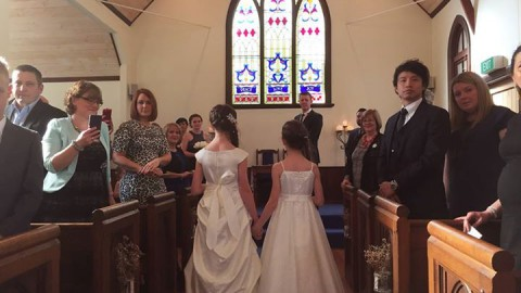 Beautiful ceremony yesterday taken by the lovely celebrant Julia Doeven
