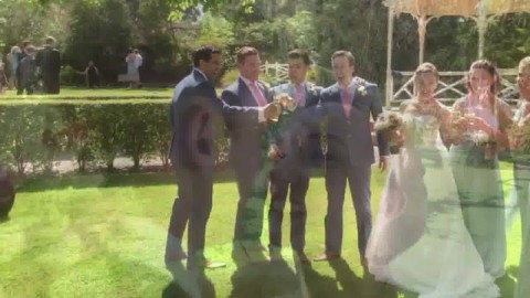 A lovely little snapshot video of Dave & Josie's wedding today!