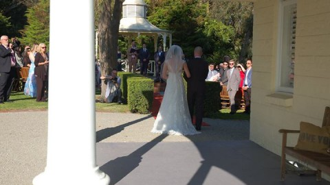 What a superb day for Alicia & James' wedding ceremony and reception