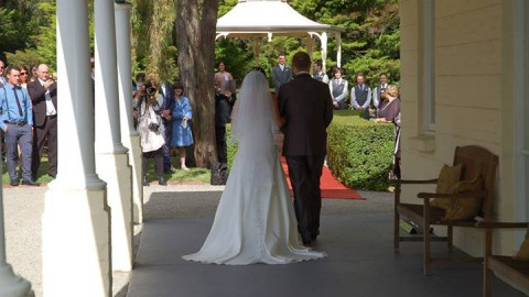 What an absolutely delightful day it was yesterday for Jess and Alex