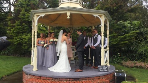 Melbourne's wedding was ordinary yesterday for Kim and Ryan's wedding but nothin…