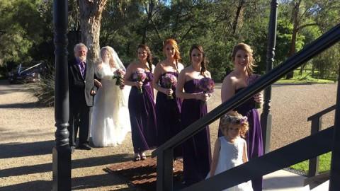 Some lovely happy snaps of mine of Darryl & Tammy's wedding last Saturday. We ha…