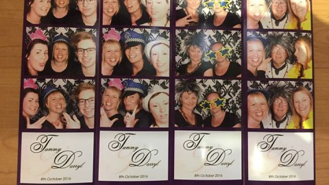 We never have fun at work at WhiteChapel! Thanks Ian from Glam Photobooths and A…