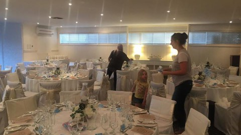 It's all action here at WhiteChapel for Samantha & Michael's ceremony and recept…