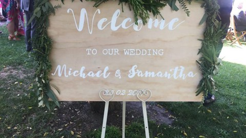 What a glorious day we had yesterday for Samantha & Michael's ceremony in the ga…