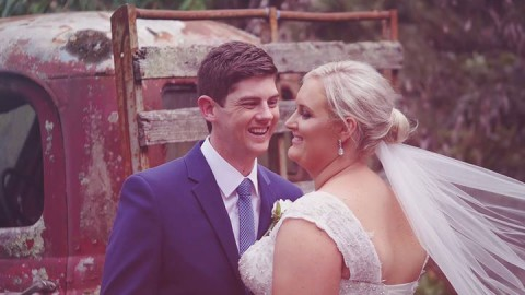 A gorgeous little video snapshot of Lauren & Chris' ceremony & reception at Whit…