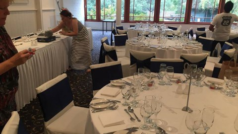 All the preparations are coming together for Bianca and Luke's wedding tomorrow….