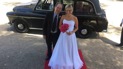 Brett, the groom, was quite cool and calm – well outwardly anyway and the beauti…