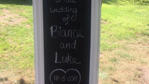 Lovely day and lovely evening for Bianca & Luke's wedding yesterday. Beautiful f…