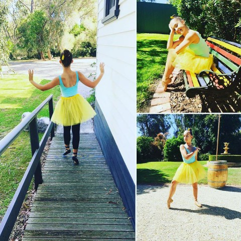 Having some Summer photo fun @whitechapelestate with my gorgeous ballerina Miss …