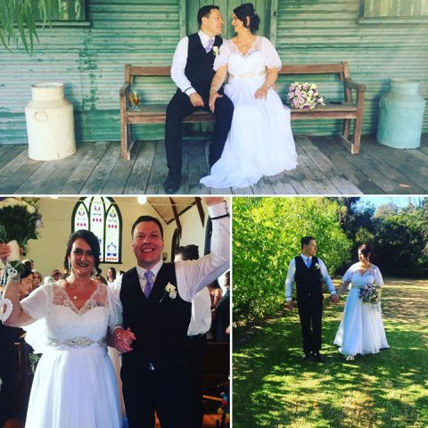 Happy 1st Anniversary Heather and Mark. Hope it's an especially wonderful day fo…