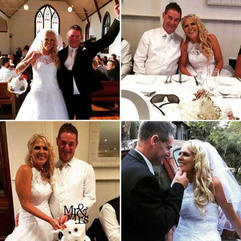 Happy First Anniversary to this fabulous couple Lisa and Craig who celebrated th…